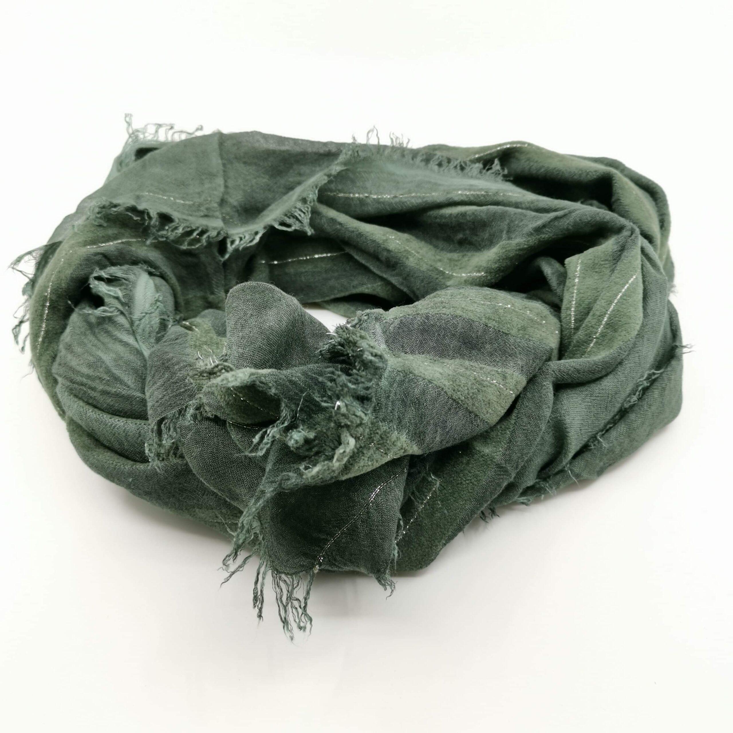 Sciarpa in modal verde